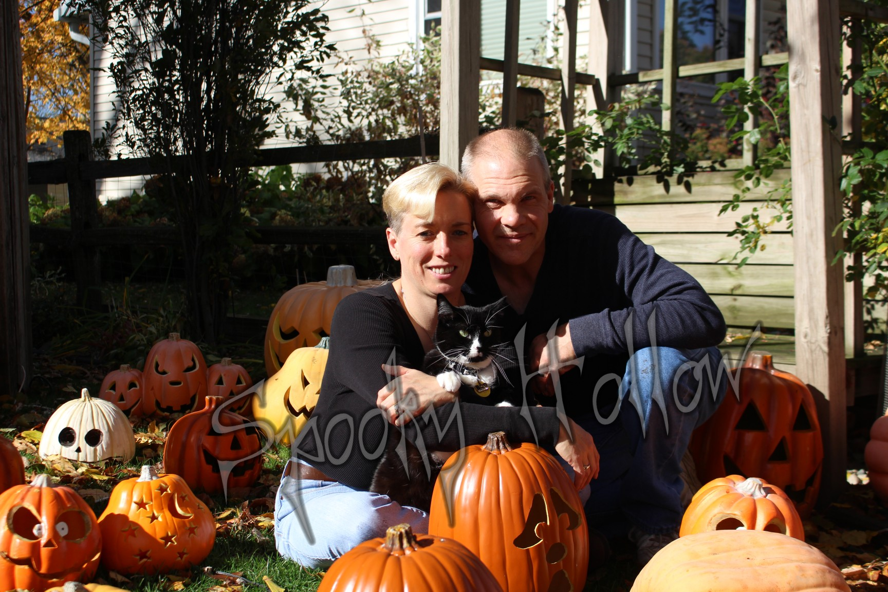 Spooky Hollow Experience owners Jack and Gina Rosenquist